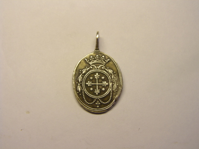 Medalla de Nª Sª de Nieva, siglo XVIII  (R.M.SXVIII-O428) (AM) Tc_5_716