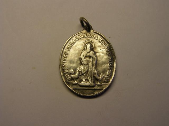 Medalla de Santo Domingo de la Calzada, siglo XIX. Tc_5_717