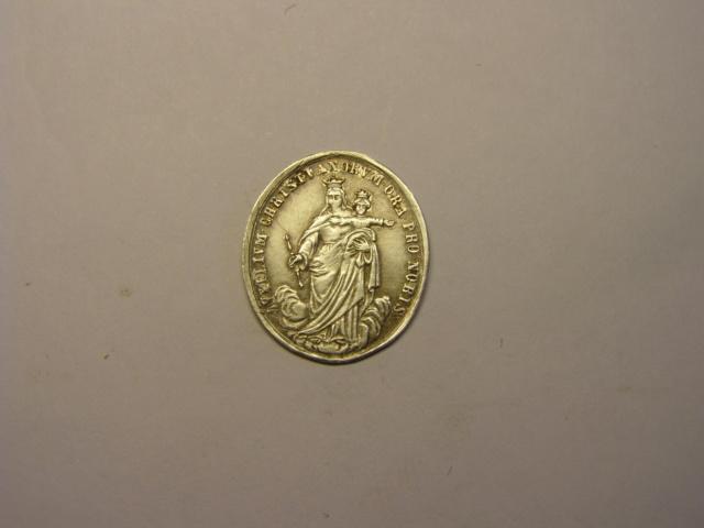 Medalla de San Francisco de Sales / Santa María Auxilio de los cristianos, S. XIX. Tc_5_722