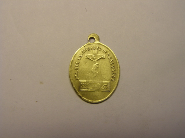 Medalla del SSº Cristo de San Salvador, Nª Sª del Puig, siglo XIX. (AM) Tc_5_728