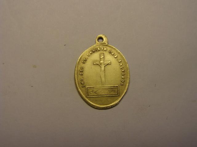 Medalla del SSº Cristo de San Salvador, Nª Sª de la Salud, siglo XIX. (AM) Tc_5_730