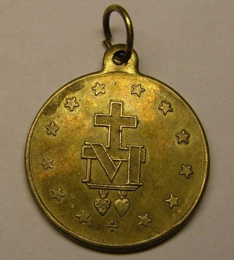 Medalla de Nª Sª de GRENYANA, finales de siglo XIX. (AM) Tc_8_311