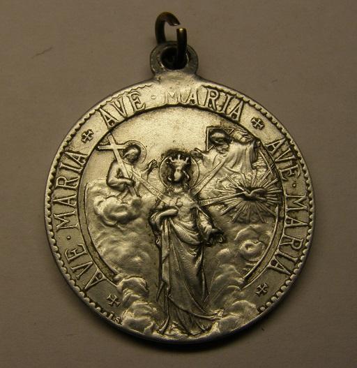 Interesante medalla mariana contra Satanás. Principios siglo XX. Tc_8_312