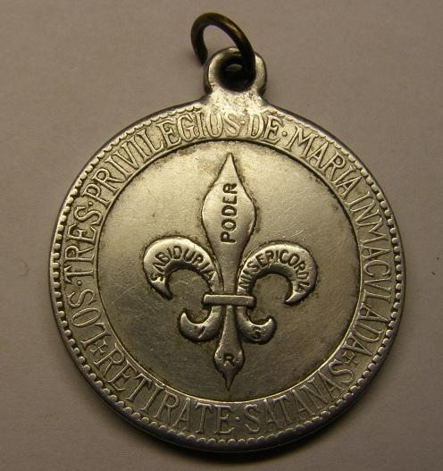 Interesante medalla mariana contra Satanás. Principios siglo XX. Tc_8_313