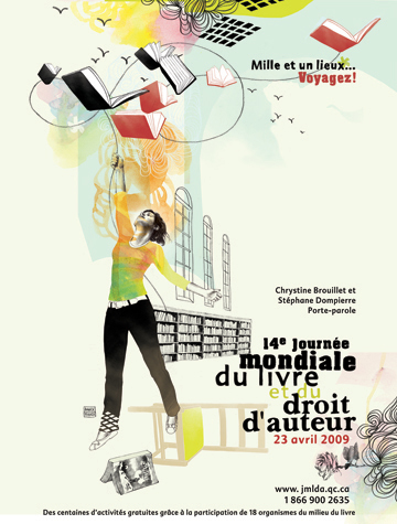 Journée mondiale du livre et du droit d'auteur Couv-940