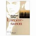 Lecture en commun - Adalbert Stifter : L'arrière-saison Aaa18