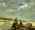 La Plage : Artistes peintres, illustrateurs, photographes... Homer10
