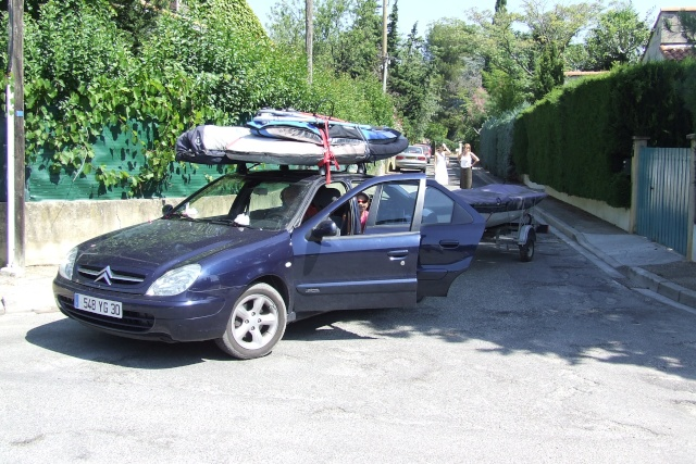 Comment transporter le matos de windsurf ? Leucat10