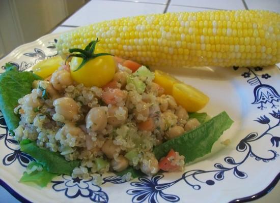 Salade de riz et de pois chiches 100_0710