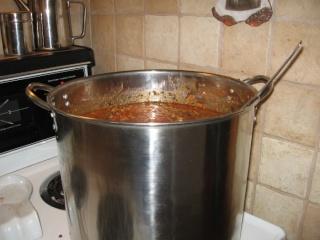 Sauce à spaghetti à l'autoclave de Marie Lune (procédure et photos) 1513