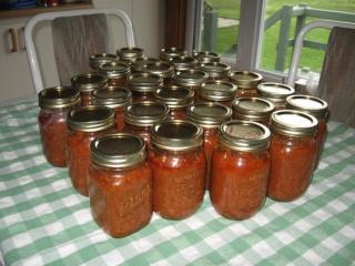 Sauce à spaghetti à l'autoclave de Marie Lune (procédure et photos) 2810