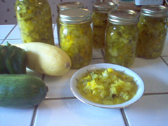 Achard de légumes (relish) Achard10
