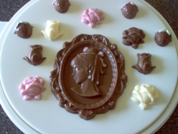 Faire soi-même des petits chocolats  Camee11