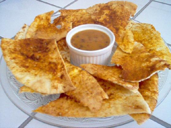 Croustilles de pain pita Croust10
