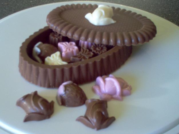 Faire soi-même des petits chocolats  Ouvert10