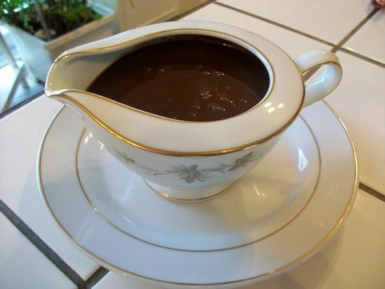 Crêpes au chocolat  Sauce_11