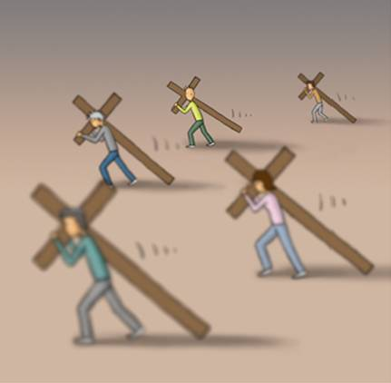 The Cross Mime-a15