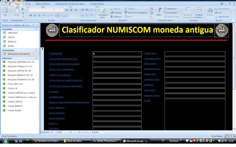 Clasificador NUMISCOM para moneda antigua Pantal11