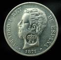 AMADEO I - 5 pesetas 1871 D.E.M. (Resello GP) _dsc0410