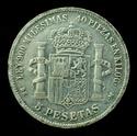 AMADEO I - 5 pesetas 1871 D.E.M. (Resello GP) _dsc0411