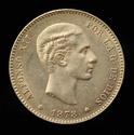 ALFONSO XII - 25 Pesetas 1878 D.E.M. _dsc0412