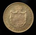 ALFONSO XII - 25 Pesetas 1878 D.E.M. _dsc0413