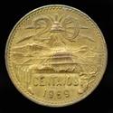 MÉJICO - 20 Centavos 1969 _dsc0418
