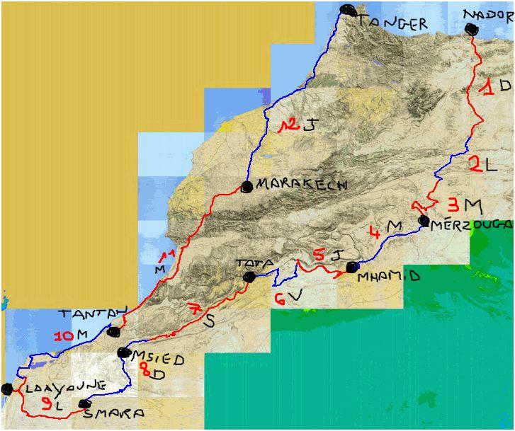 Maroc hiver 2009-2010 Voyage13