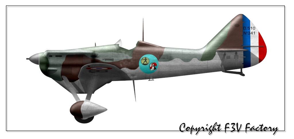 Dewoitine D.510 D-51010