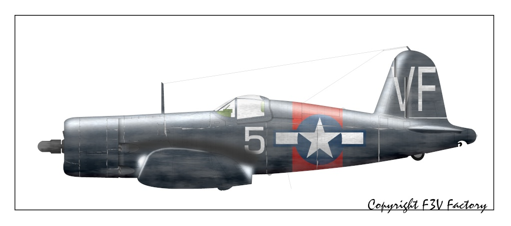 F-4U Corsair: l'avion aux ailes tordues F-4u4510
