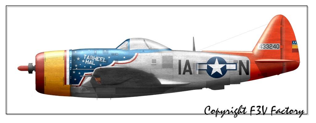 profil Bf 109 G P-47d-15