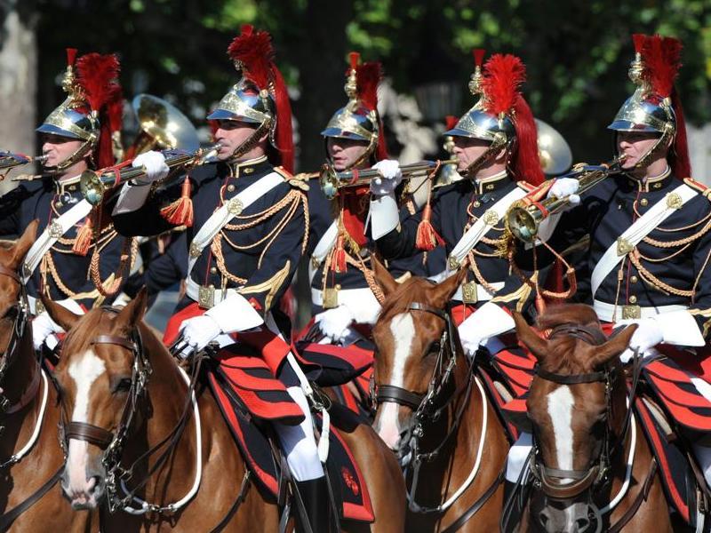 Fanfare de la GARDE REPUBLICAINE 20090710