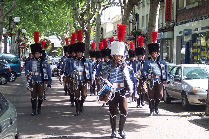 Fanfare du 2èmes régiment de Hussard Aulnay11