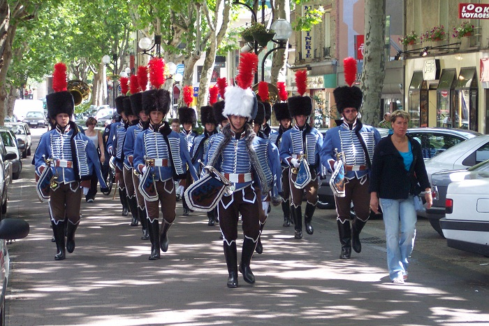 Fanfare du 2èmes régiment de Hussard Aulnay12