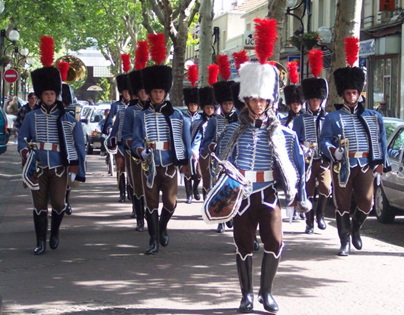 Fanfare du 2èmes régiment de Hussard Aulnay13