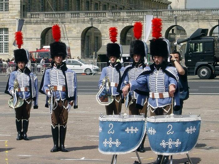 Fanfare du 2èmes régiment de Hussard Paris_12
