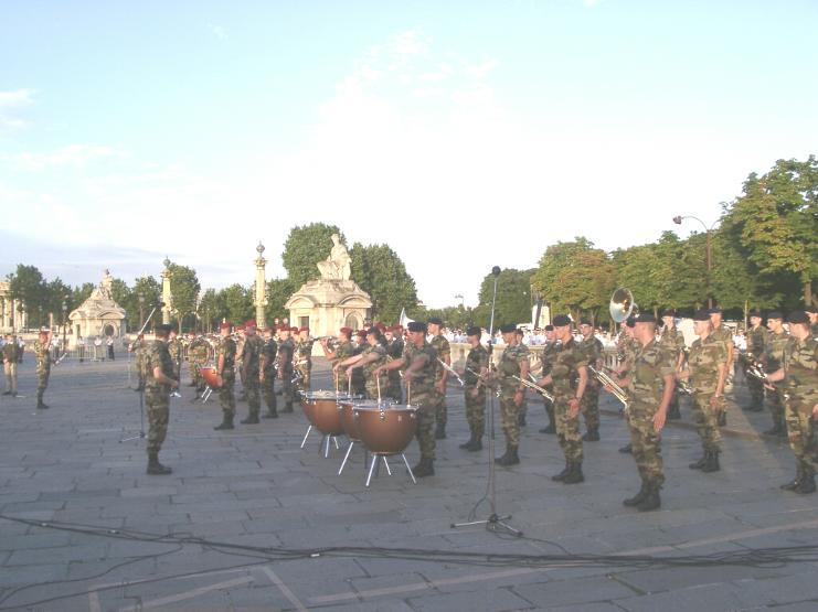 Fanfare du 2èmes régiment de Hussard Repeti10