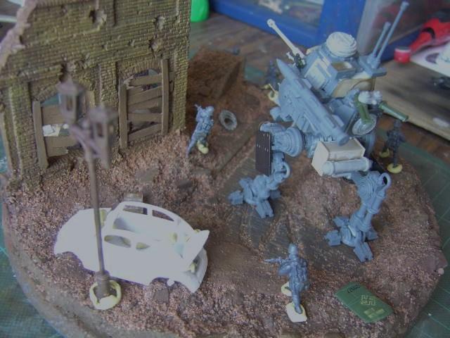 Marcheur De Combat 00828