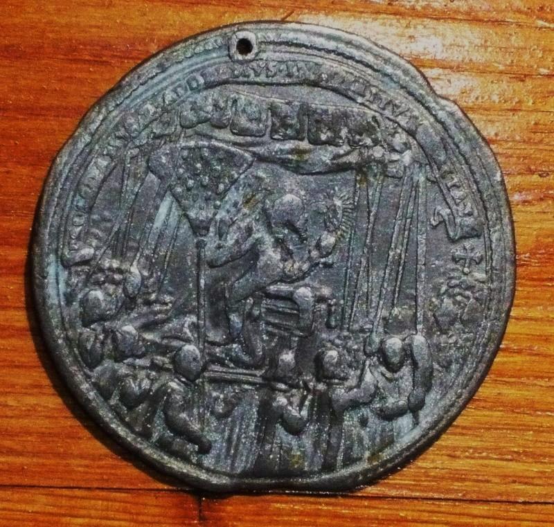 Medallas papa nº 237 Alejandro VII Alex_v10