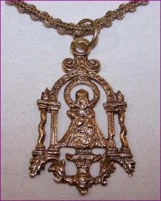 Virgen de la Fuencisla (Ventana) (R.M. PFV Fuencisla 2)(MAM) Medail11