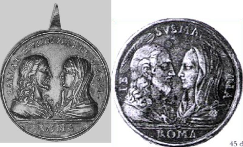 Jesus y Maria / cuatro basilicas romanas  (R.M. SXVIII-C11) Vv10