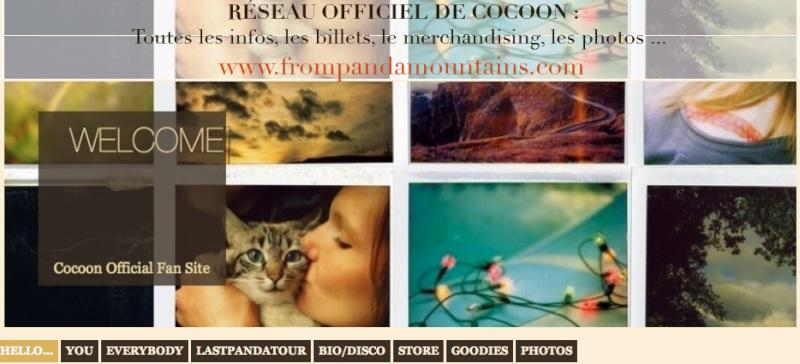 LE RÉSEAU OFFICIEL DE COCOON Pandam10