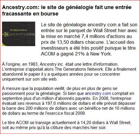 LA RÉUTILISATION DES DONNÉES PUBLIQUES (Dossier) Ancest10