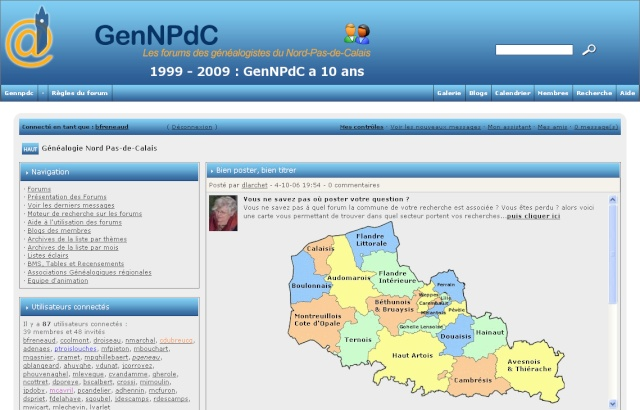 AUTRES FORUMS GENEALOGIQUES FRANCOPHONES Gennpd10