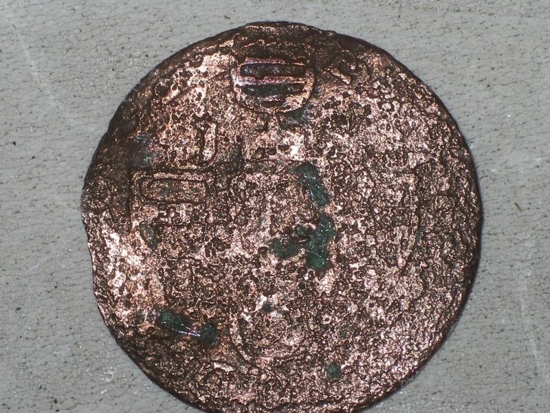 Liard en cuivre de Jean théodore de Bavière, Prince évèque Imgp7146