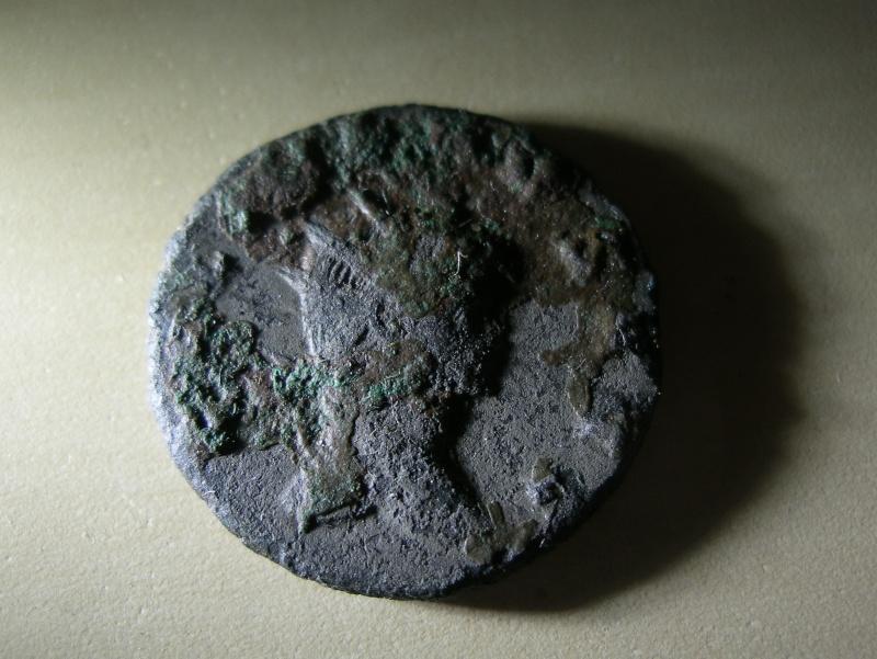Monnaie romaine de Gallien à identifier Imgp7658