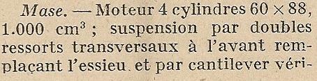 M.A.S.E. / MASE cyclecar et voiturettes - Page 2 Mase_t10