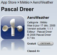 [iPhone] AeroWeather Aerowe10