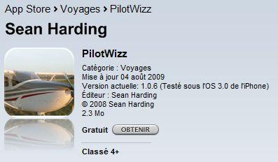 [iPhone] PilotWizz Pilotw10