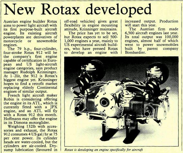 Motorisation ROTAX - Page 2 Rotaxh13